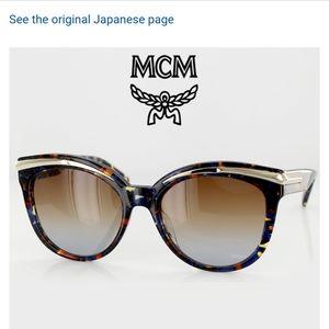 MCM 55mm Cat Eye Sunglasses (double post)
